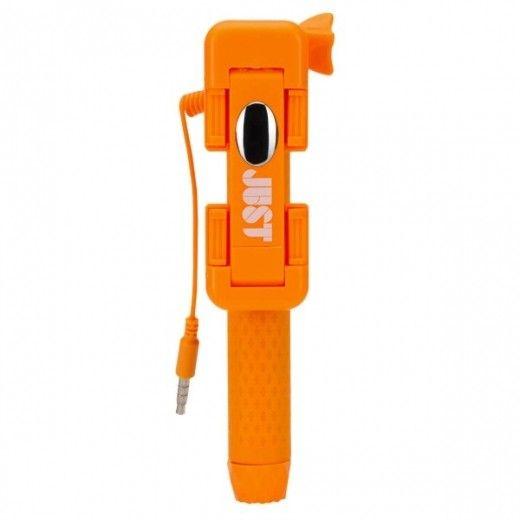 Монопод для селфи JUST Selfie Stick Mini Orange (SLF-STKMN-ORG)