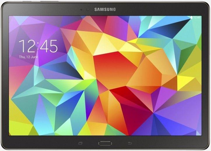 Планшет Samsung Galaxy Tab S 10.5 16GB LTE Charcoal Gray (SM-T805NHAASEK)