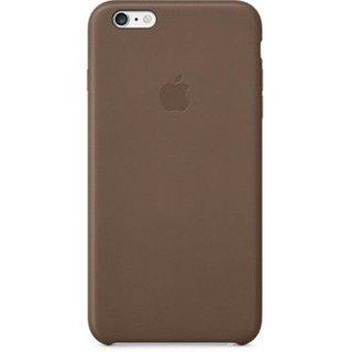 Чехол для Apple iPhone 6 Plus Leather Case Olive Brown (MGQR2ZM/A)