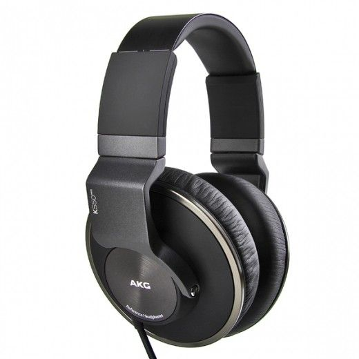 Навушники AKG K550 MK II Black (K550MKIIBLK)