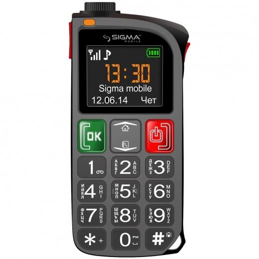Мобильный телефон Sigma mobile Comfort 50 Light Black