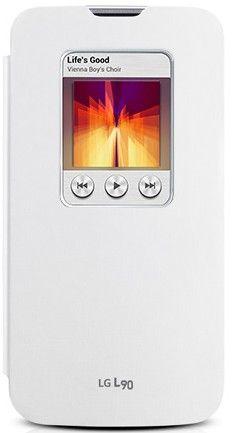 Чехол LG QUICK WINDOW для LG L90 White (CCF-385AGEUWH)