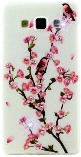 Панель Diamond Silicone Lenovo A319 Sakura Blossom