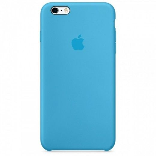 Панель Apple iPhone 6s Silicone Case Blue (MKY52ZM/A)