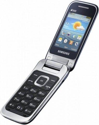Мобильный телефон Samsung C3592 Cobalt Black