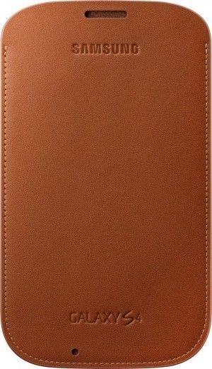 Чехол Samsung для Galaxy S4 I9500 Brown (EF-LI950BAEGWW)