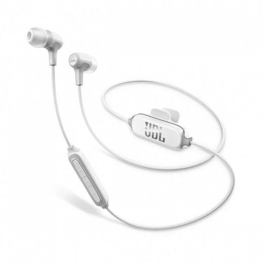 Навушники JBL In-Ear Headphone Bluetooth E25BT White (JBLE25BTWHT)