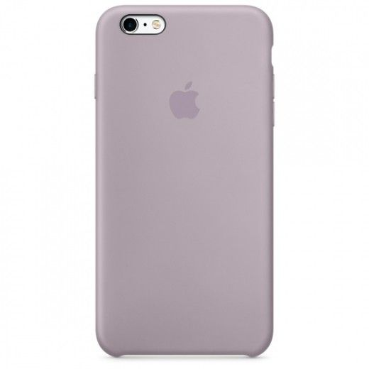 Силиконовый чехол Apple iPhone 6s Plus Silicone Case (MLD02) Lavender