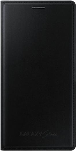 Чехол Samsung для S5 mini EF-FG800BBEGRU Black