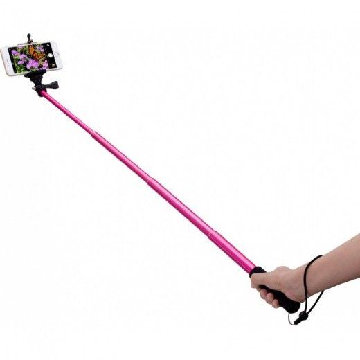 Монопод для селфи MOMAX Selfifit Bluetooth Selfie Pod 90cm Pink (KMS1NP)