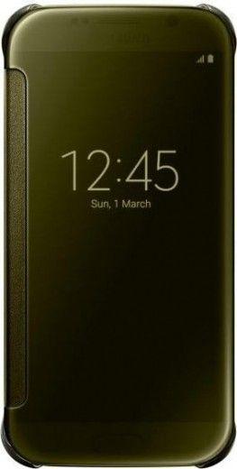 Чехол Samsung Zero для Samsung Galaxy S6 Gold (EF-ZG920BFEGRU)