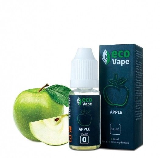 Жидкость для электронных сигарет ECO Vape Apple 0 мг/мл