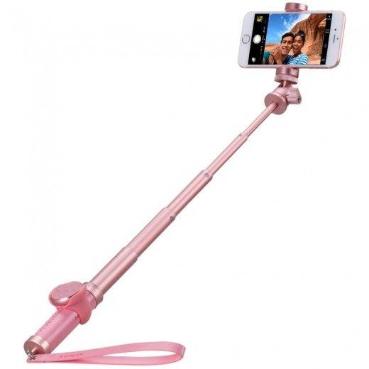 Монопод для селфи MOMAX Selfie Pro Bluetooth Selfie Pod 90cm Rose Gold (KMS4L2)