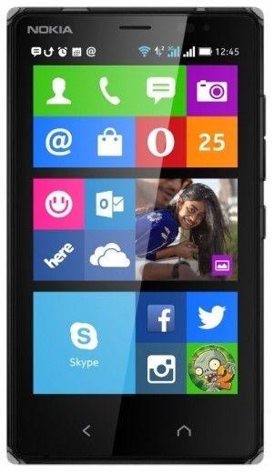Мобильный телефон Nokia X2 Dual Sim Black