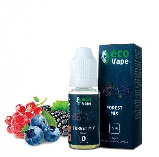 Жидкость для электронных сигарет ECO Van Vape  Forest Mix 0 мг/мл