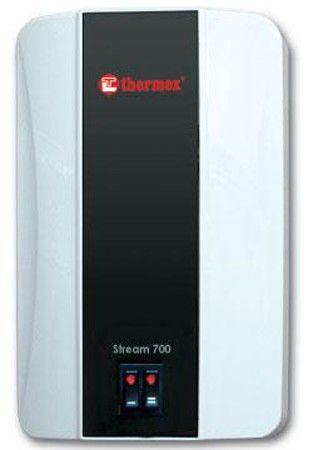 Электрический проточный водонагревательTHERMEX Stream 700 White