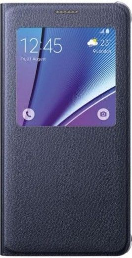 Чехол Samsung Note 5 N920 EF-CN920PBEGRU Blue Black