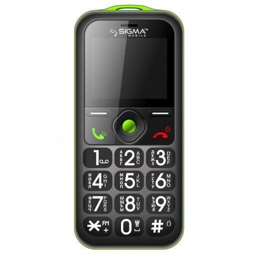 Мобильный телефон Sigma mobile Comfort 50 Mini2 Green