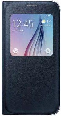 Чехол Samsung S View Zero для Samsung Galaxy S6 BlueBlack (EF-CG920PBEGRU)