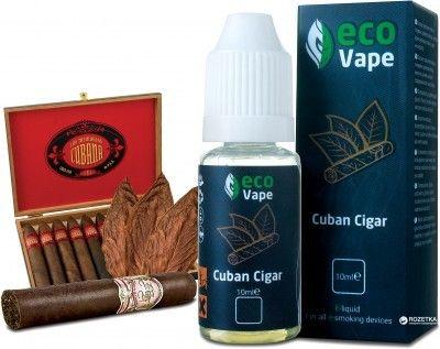 Жидкость для электронных сигарет ECO Vape Cuban Sigar 3 мг/мл