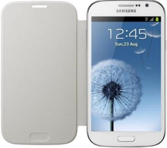 Чехол-книга Samsung для Galaxy Grand Duos I9082 White (EF-FI908BWEGWW)