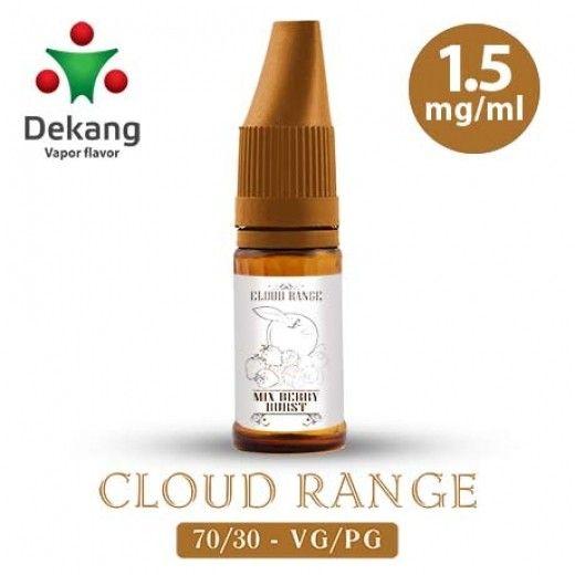 Жидкость для электронных сигарет Dekang Cloud Range «Berry Burst» 1.5 мг/мл