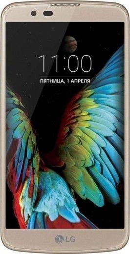 Мобильный телефон LG K410 K10 Gold (LGK410.ACISSG)