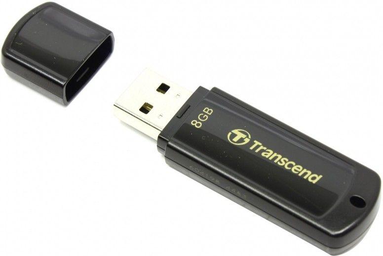 USB флеш накопитель Transcend JetFlash 350 8GB (TS8GJF350)