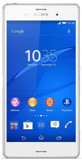 Смартфон Sony Xperia Z3 DS D6633 White