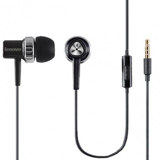 Навушники Lenovo 204 Black