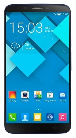 Мобильный телефон Alcatel One Touch Hero 8020D Bluish black