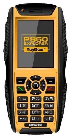 Мобильный телефон RugGear P860 Explorer Black/Yellow