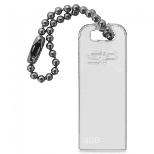 USB флеш накопитель Silicon Power 8 GB Touch T03 Transparent