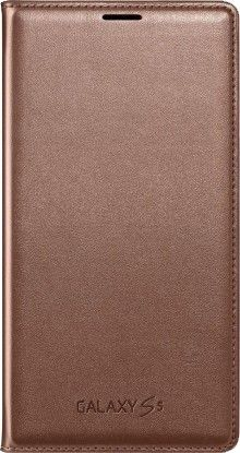 Чехол Samsung Flip Wallet для Galaxy S5 Roze Gold (EF-WG900BFEGRU)
