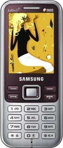 Мобильный телефон Samsung C3322 Duos Scarlet Red La Fleur