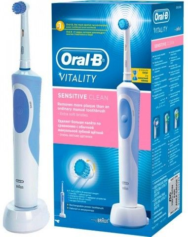 Электрическая зубная щетка BRAUN ORAL-B Vitality Sensitive/D12