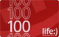 Ваучер поповнення рахунку Life 100