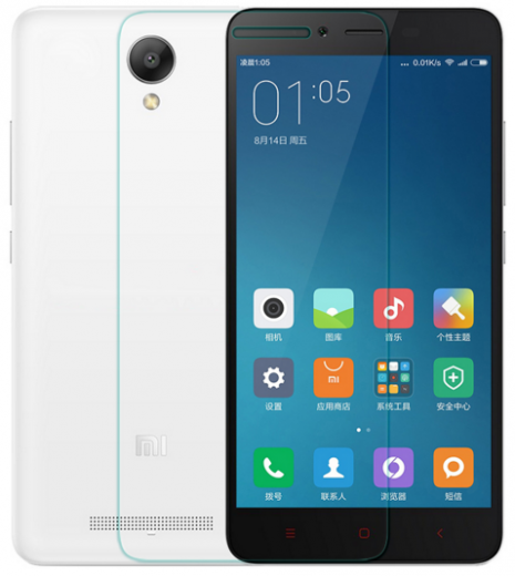 Защитное стекло Remax plus Xiaomi Redmi Note 2