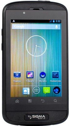 Смартфон Sigma mobile X-treme PQ12 Black