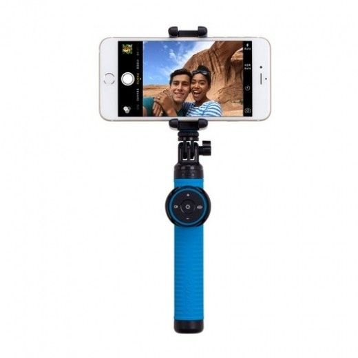 Монопод для селфи MOMAX Selfie Hero Bluetooth Selfie Pod 70cm Blue/Black (KMS6D)