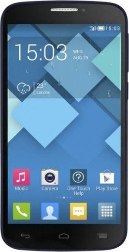 Мобильный телефон Alcatel One Touch 7041D POP C7 Dual Sim Bluish Black