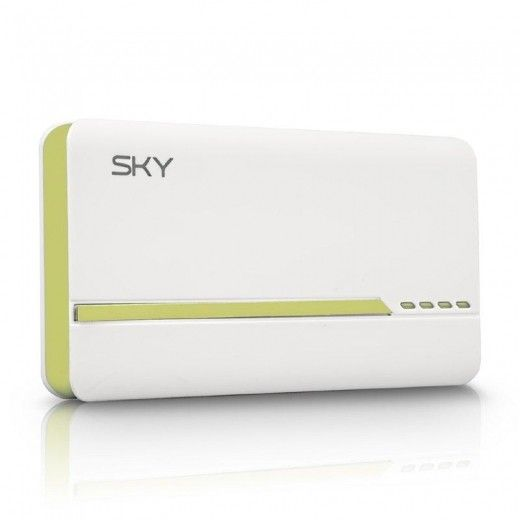 Портативная батарея Sky Energy 10000mAh 1A/2.1A Green