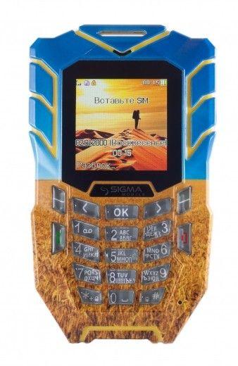 Мобильный телефон Sigma mobile X-treme AT67 Kantri Blue/Yellow