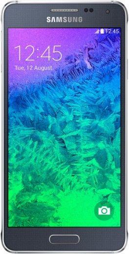 Смартфон Samsung Galaxy Alpha G850F Charcoal Black