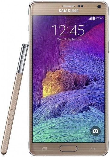 Смартфон Samsung Galaxy Note 4 N910H Gold