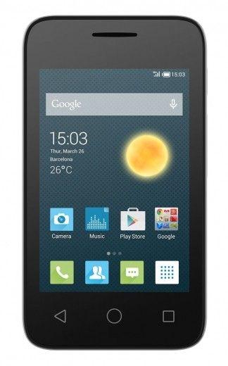 Мобильный телефон Alcatel OneTouch 4009D Metalic Silver