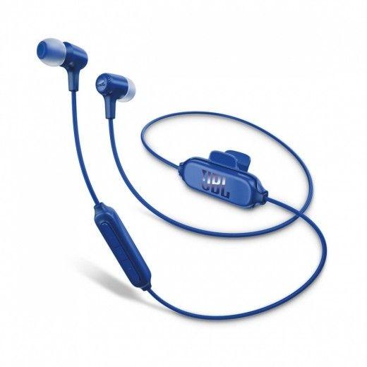 Навушники JBL In-Ear Headphone Bluetooth E25BT Blue (JBLE25BTBLU)