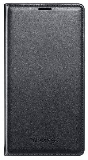 Чехол Samsung Flip Wallet для Galaxy S5 Black (EF-WG900BBEGRU)
