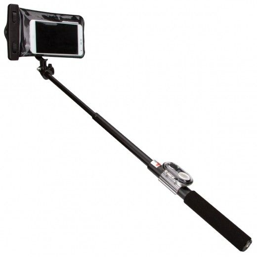 Монопод для селфи JUST Selfie Stick PRO Water Set (SLF-STKPW-BLK)