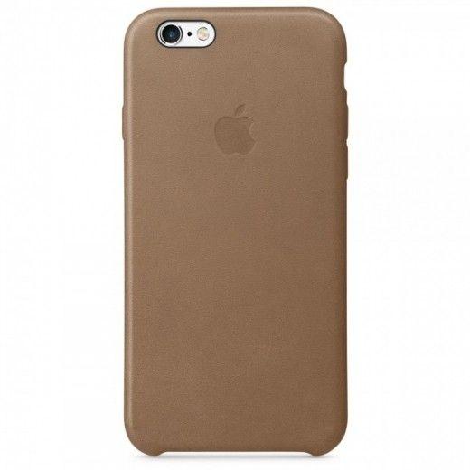 Чехол для Apple iPhone 6s Leather Case Brown (MKXR2ZM/A)